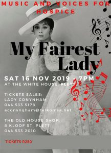 My Fairest Lady Fundraising Event in aid of Hospice Plett